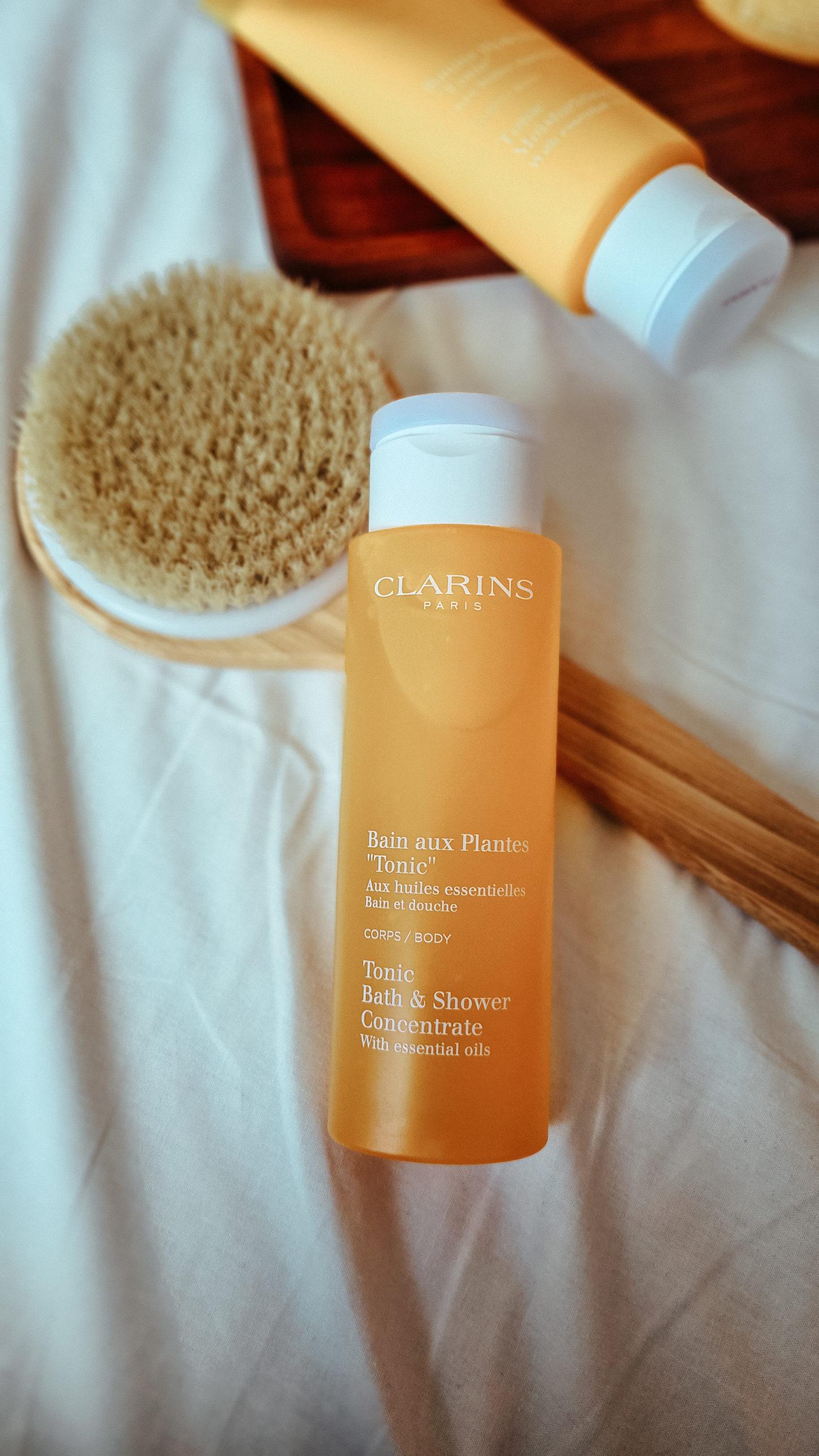 bain aux plantes tonic clarins