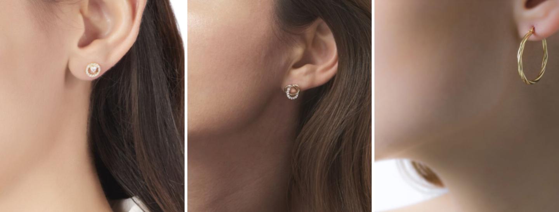 selection boucles d'oreilles histoire d'or
