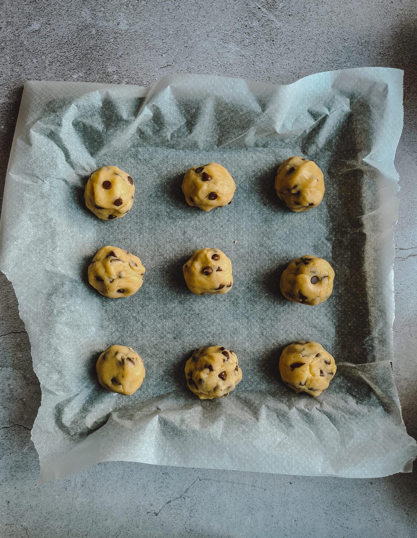 temps de cuisson cookies